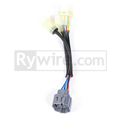 rywire obd0 to obd2a 10 pin distributor adapter